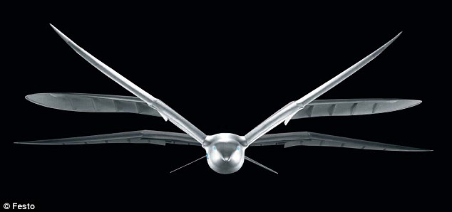 Smartbird: Excellent Aerodynic Qualities and Extreme Agility