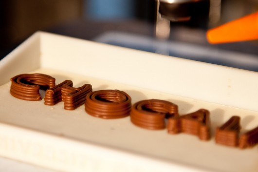 Researchers are University of Exeter develop 3D Chocolate Printer