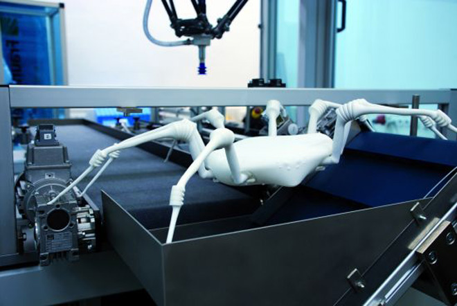 3D printed spiderbot to assist in search and rescue missions