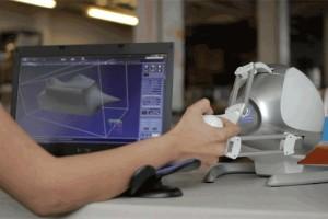 Cloud9 3D modelling platform with Falcon Haptic Device