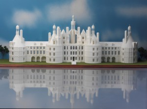 SLS Scale model of Chateau