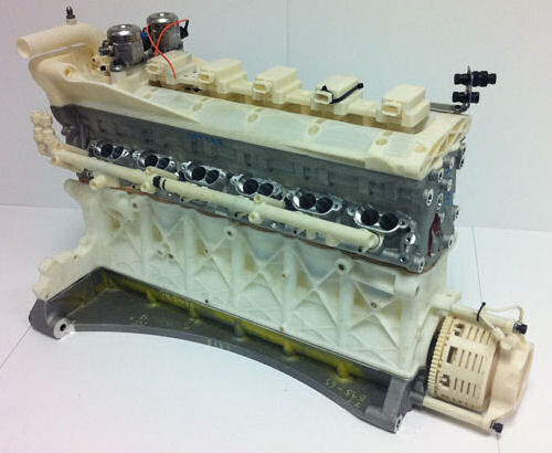 Aston Martin LMP1 AMR-One Engine produced with Rapid Prototyping technologies