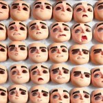 3D Printed facial expressions