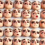 3D Printed facial expressions