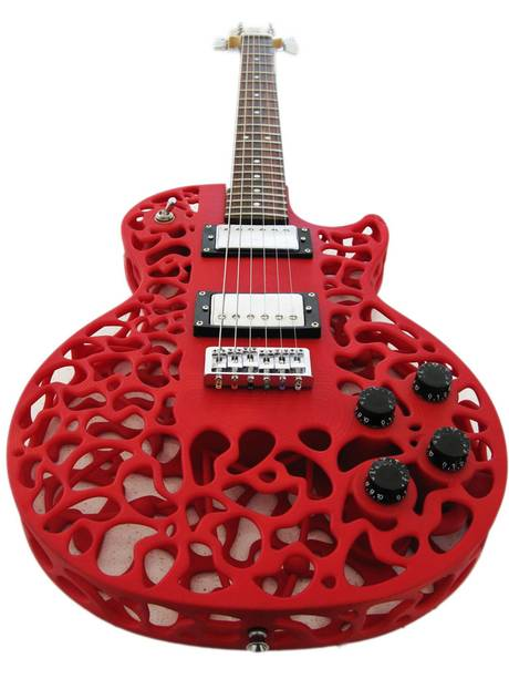 3D Printed Guitar