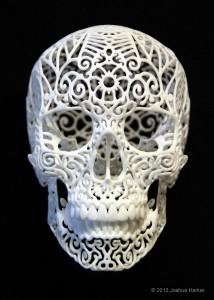 Artwork created with 3D Printing - CraniaRevolutis